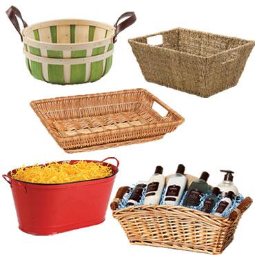 Baskets w/ Side Handles
