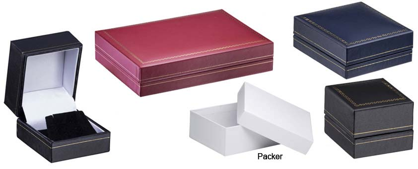 Cartier Style Leatherette Boxes