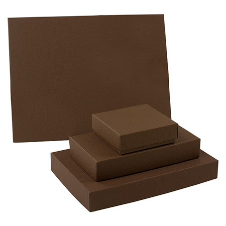 Textured Cocoa Candy Boxes Collection