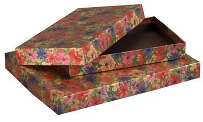 Floral Foil Candy Box Collection