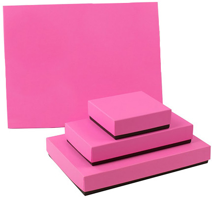 Pink & Dark Chocolate 2-Tone Candy Box