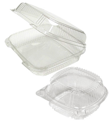 Smartloc Clear Hinged Snap Close Containers