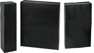 Premium Rigid Folding Black Wine Boxes
