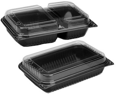 Microwarmable Dinner Box with Anti Fog Lid