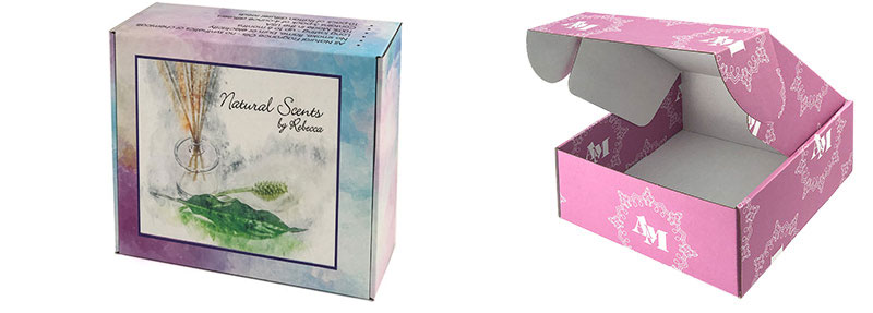 Matte Full Color Custom Printed Subscription Boxes