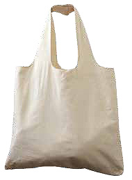 Gussetted Cotton Shopping Tote