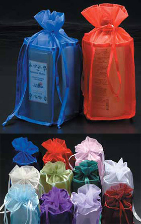 Square Bottomed Organza Bags