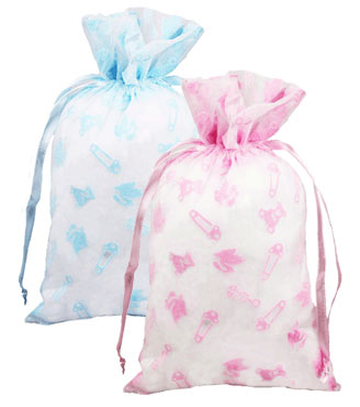 Flocked Baby Accessories Bags