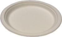 Biodegradable 10in Round Sugarcane Plates