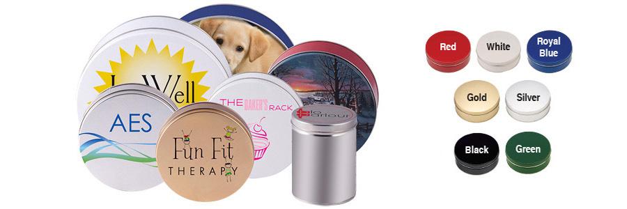 Custom Printed Round Cookie Tins
