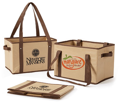 Non Woven Collapsible Basket-Tote