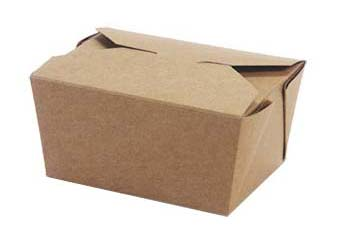 MeyerPak Coated Kraft Take-out Boxes