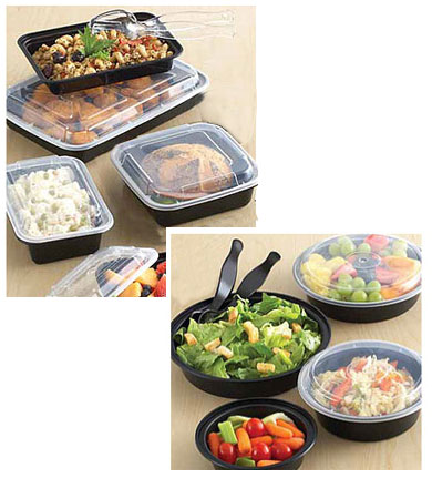 Premium Microwaveable Take Out Containers