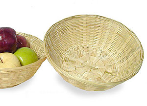 12in. Bamboo Bowl