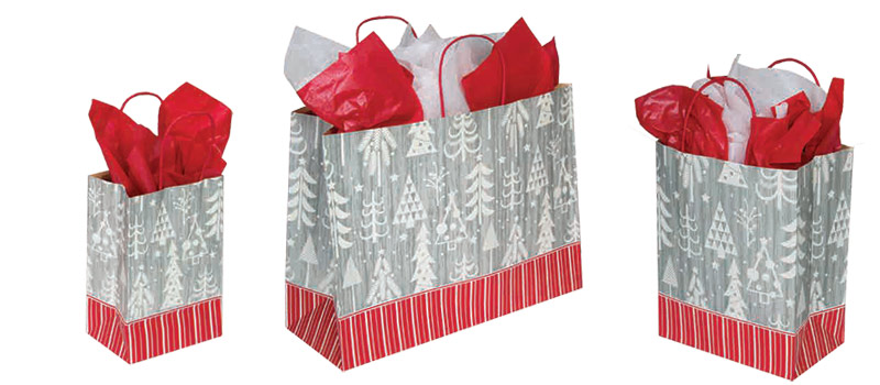 Boreal Designed Paper Shopping Bags