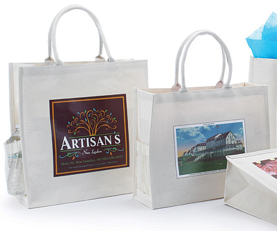 Custom Printed Canvas Shopping Bags