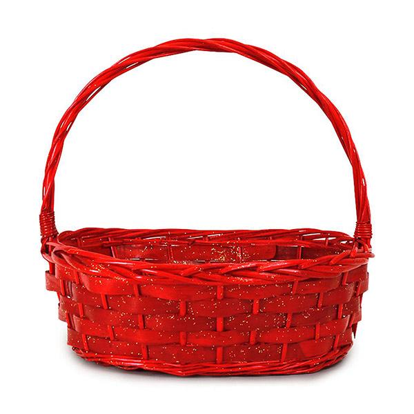 CK110 Oval Red Basket