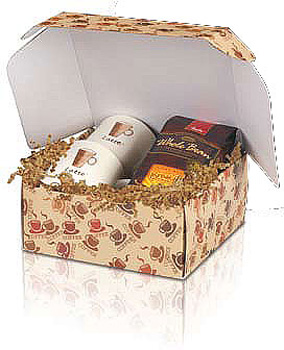 Coffee Corrugated Mailer Boxes