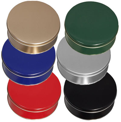 Colored Cookie Tins