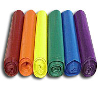 Colored Trash Bags and Plastic Liners