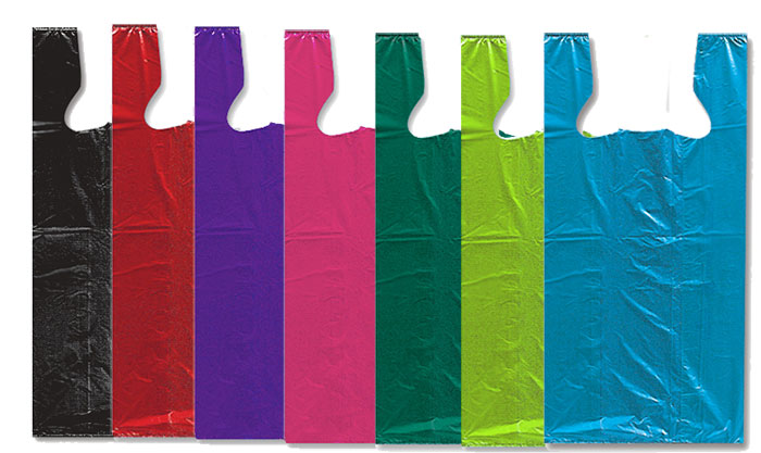 High Density Colored T-Style Bags