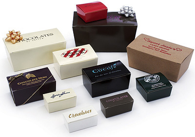 Contemporary Ballotin Paper Candy Boxes