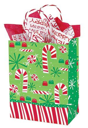 Contempo Canes Paper Shopping Bags