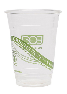 Biodegradable 16 oz. Corn Cups
