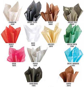 Crystallized Tissue Paper