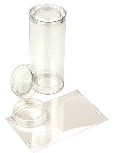 FDA Approved Clear Round Tube