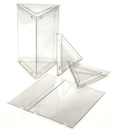 FDA Approved Clear Triangle Tube