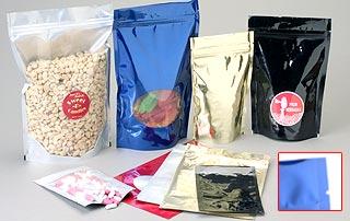 Reclosable Premium 5mil Oval Bottom Foil Bags