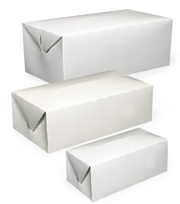 To Go Deli Boxes with Fast Top Flap Closure