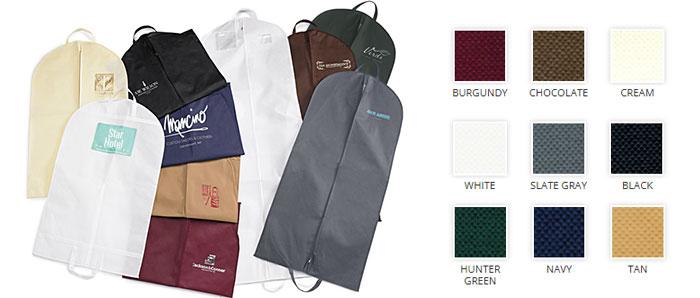 Non Woven 1 Color Printed Garment Bags Us Box Corp