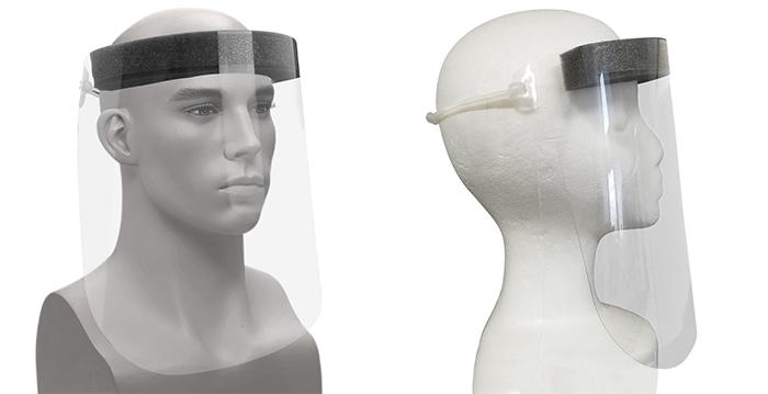 Face Shield w/Foam Headband
