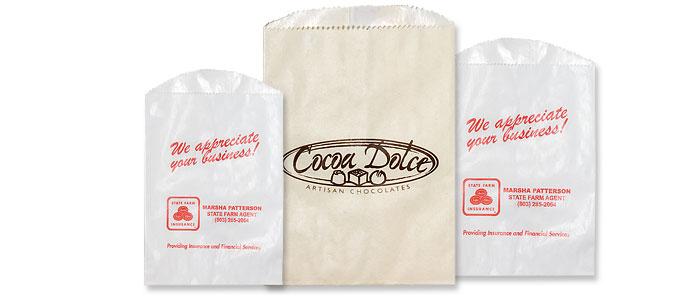 Short Run Glassine Lined Bags