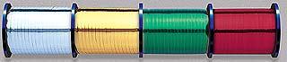 Glitter Metallic Curling Ribbon