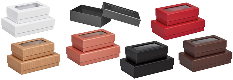 Ultra-Rigid Gourmet Rectangle 2 Piece Window Boxes