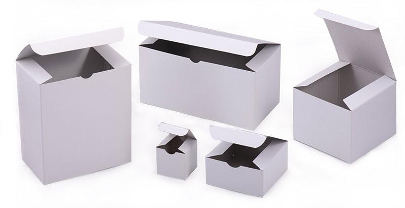 Premium White Gloss Gift Boxes
