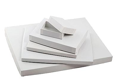 'Great Lakes' White Semi Gloss Photo Boxes
