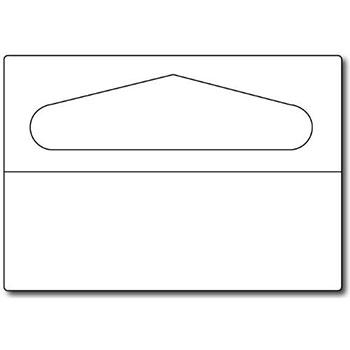 Clear PVC Adhesive Hang Tabs