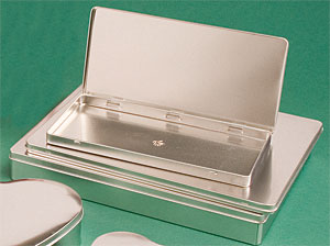 Hinged Metal Tins Us Box Corp