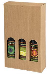 Italian-Textured-Kraft-Olive-Oil-and-Vinegar-Boxes