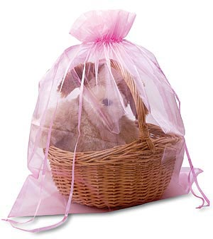 Jumbo Organza Gift Pouches