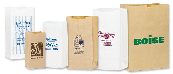 Short Run Natural Grocery Bags