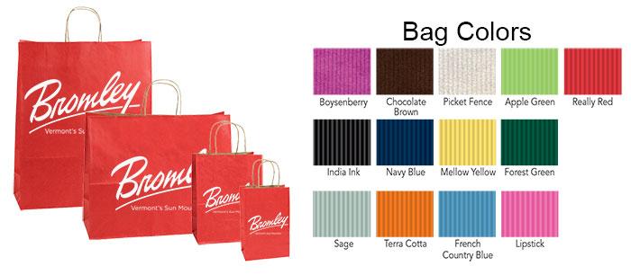 LB  Varnish Shadow Stripe Color Shopping Bags