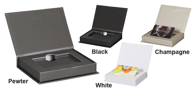 Magnetic Soft Touch Giftcard Boxes