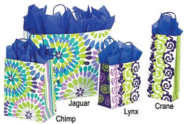 Make a Splash Paper Shopping Bags