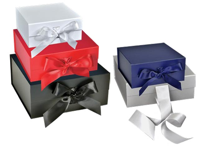 Scratch Resistant Matte Finish Ribbon Magnetic Box