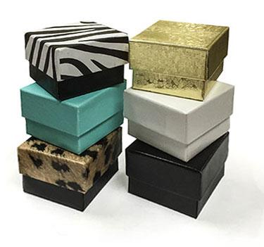Deluxe Set Up Ring Box w/Foam Insert